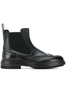 Santoni slip-on Chelsea boots