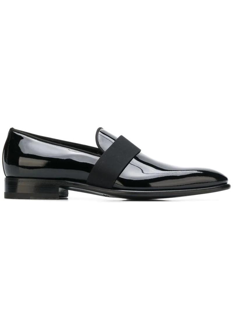 Santoni slip-on loafers
