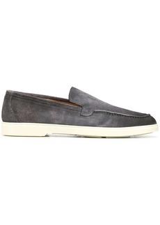 Santoni smooth finish loafers