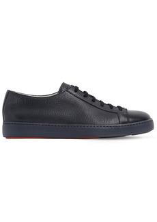 Santoni Soft Leather Sneakers