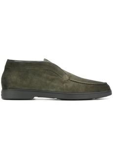 Santoni suede ankle boots
