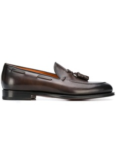 Santoni tassel detailed loafers