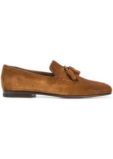 Santoni tassell loafers
