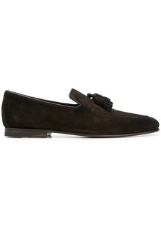 Santoni tasselled loafers