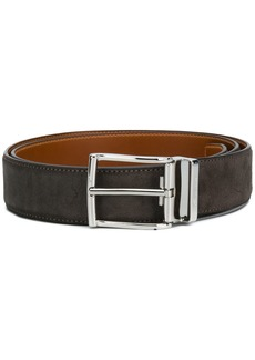 Santoni textured buckle belt
