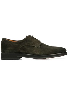 Santoni textured Derby shoes