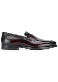 Santoni two-tone loafers