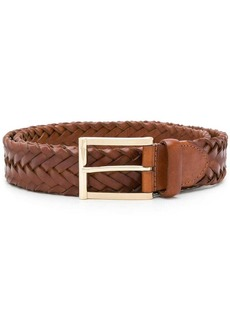 Santoni woven belt