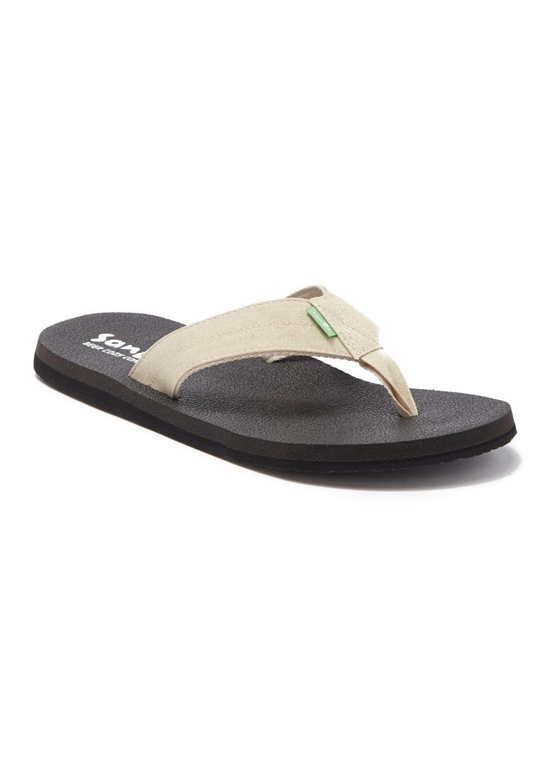 Sanuk Beer Cozy Comfort Flip Flop