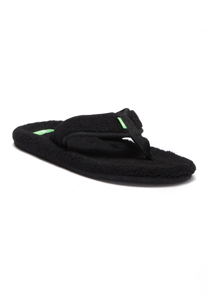 Sanuk Furreal Classic Chill Faux Shearling Flip-Flop