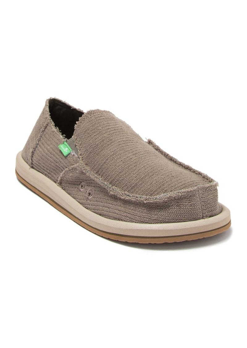 Sanuk Hemp Slip-On Sneaker