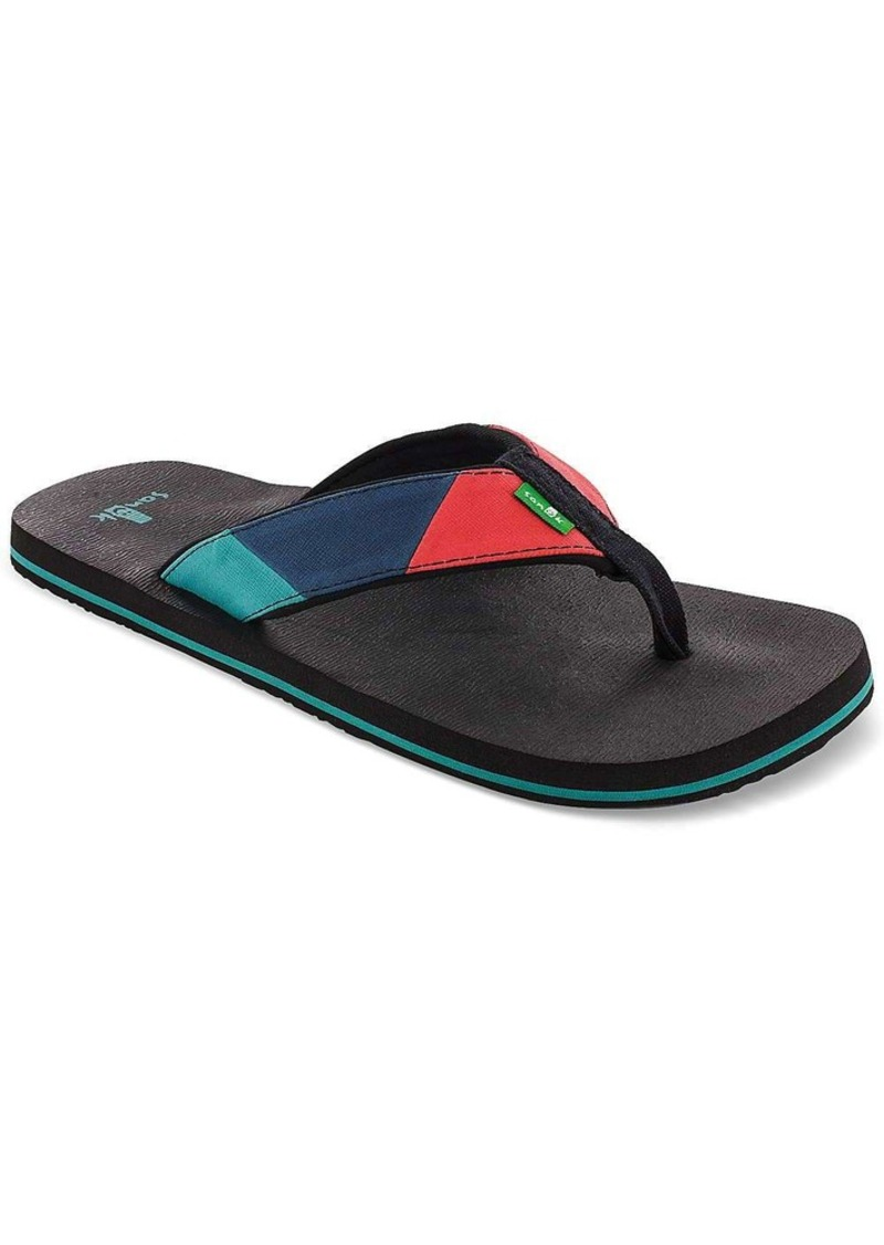 Sanuk Men's Block Party Sandal