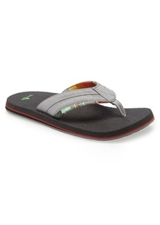 Sanuk Bear Cozy TX Flip Flop (Men)