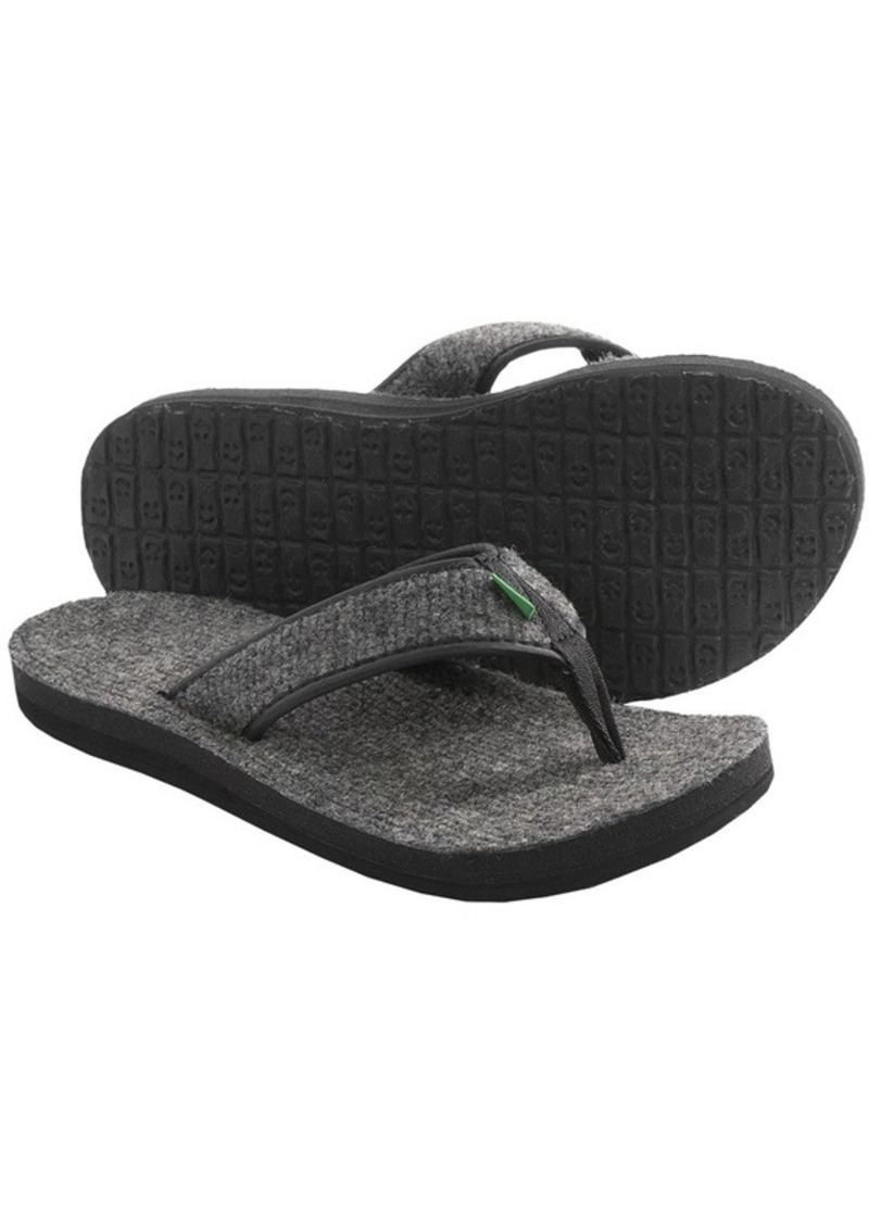 Sanuk Sanuk Fur Real Cozy Sandals Flip Flops For Men