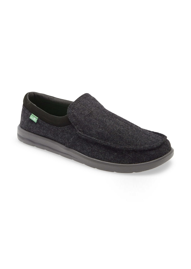 Sanuk Hi Bro Woolly Slip-On Sneaker (Men)