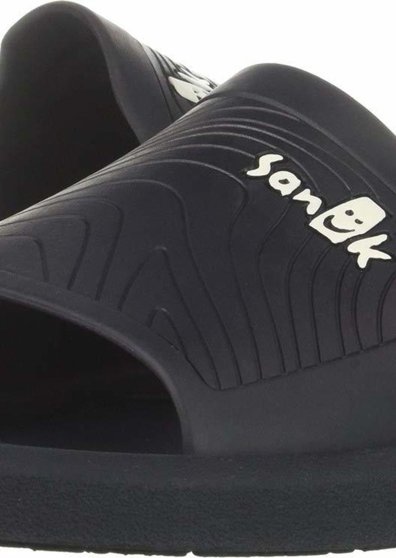 Sanuk Men's Beachwalker Slide Sandal navy  M US