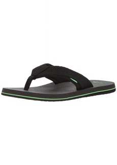 Sanuk Men's Beer Cozy 2 MESH Flip-Flop