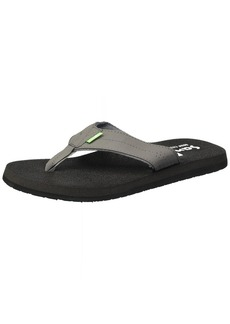 Sanuk Men's Beer Cozy Coaster Flip-Flop