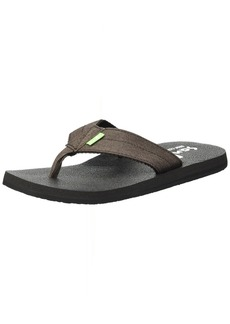 Sanuk Men's Beer Cozy Coaster TX Flip-Flop