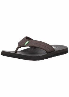 Sanuk Men's Beer Cozy Coaster TX Flip-Flop   M US