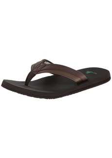 Sanuk Men's Beer Cozy Light Flip Flop