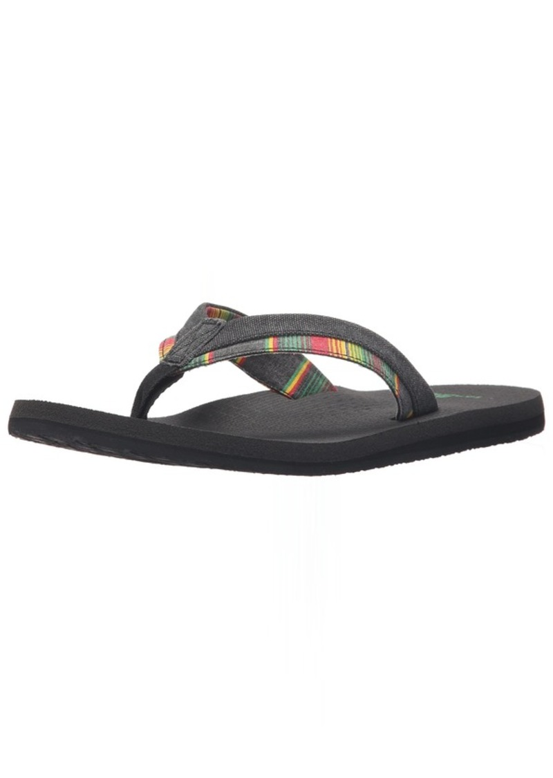 Sanuk Men's Beer Cozy Light Funk Flip-Flop  0 M US