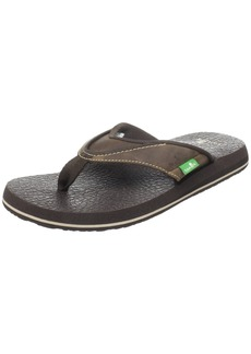 Sanuk Men's Beer Cozy Primo Flip Flop