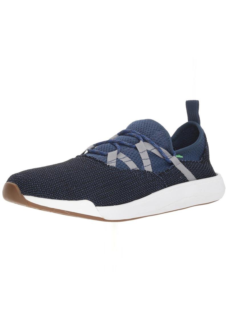 Sanuk Men's Chiba Quest Lace Se Sneaker navy/grey 0 M US