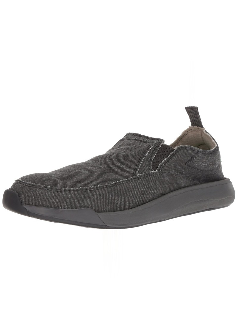 Sanuk Men's Chiba Quest Sneaker black/black 0 M US