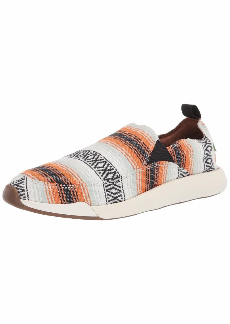 Sanuk Men's Chiba Quest TX Sneaker Multi Baja blanket  M US