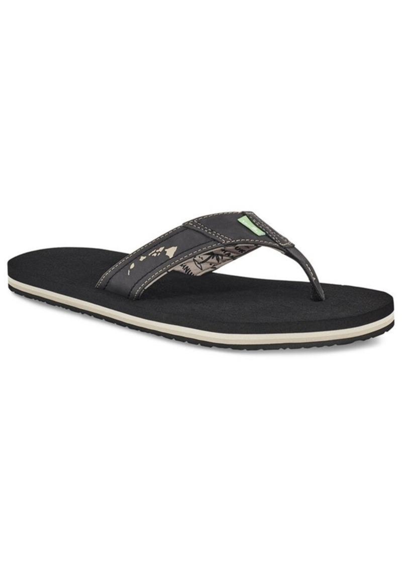 Sanuk Men's Cozy Coaster Flip-Flop Sandals Men's Shoes