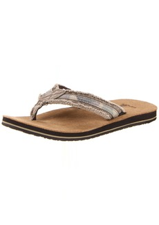 Sanuk Men's Fraid So Flip Flop
