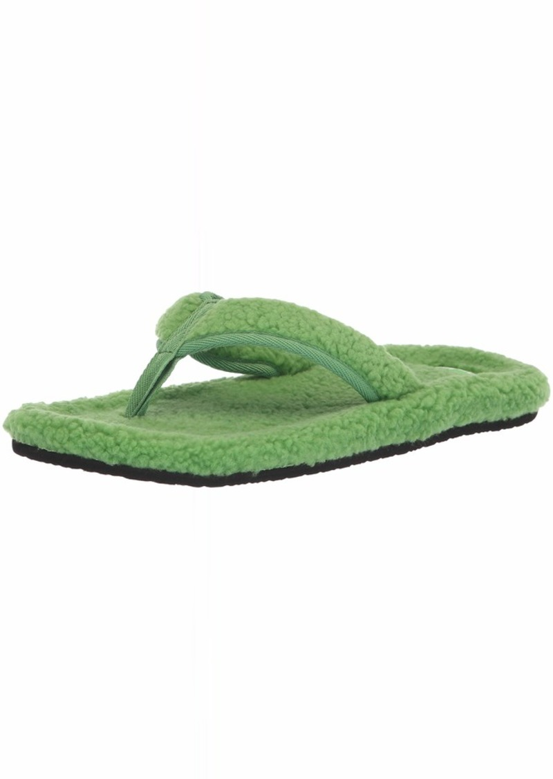 Sanuk Men's Furreal Classic Chill Flip-Flop Green  M US