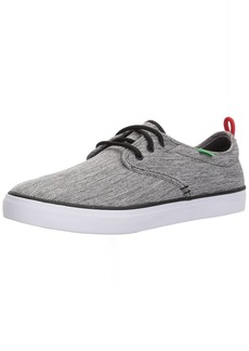 Sanuk Men's Guide Plus Sneaker Grey Space dye