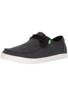 Sanuk Men's NU-NAMI Grain SLUB Sneaker Black