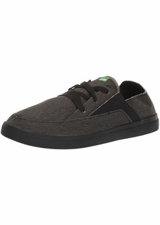 Sanuk Men's Pick Pocket Lace Up Sneaker Black