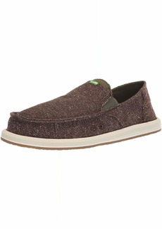 Sanuk Men's Pick Pocket Tweed Loafer Flat