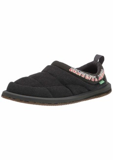 Sanuk Puff N Chill Grateful Dead Dark Brown/Tie-Dye  D (M)