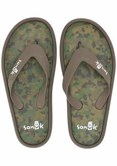 Sanuk Men's Sidewalker Flip-Flop   M US