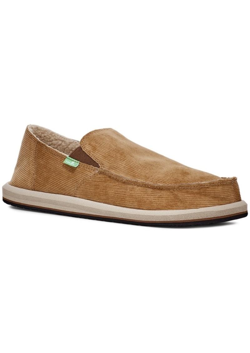 Sanuk Men's Vagabond Chill Loafers Men's Shoes