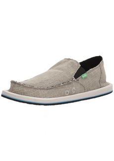 Sanuk Men's Vagabond Grain SLUB Loafer