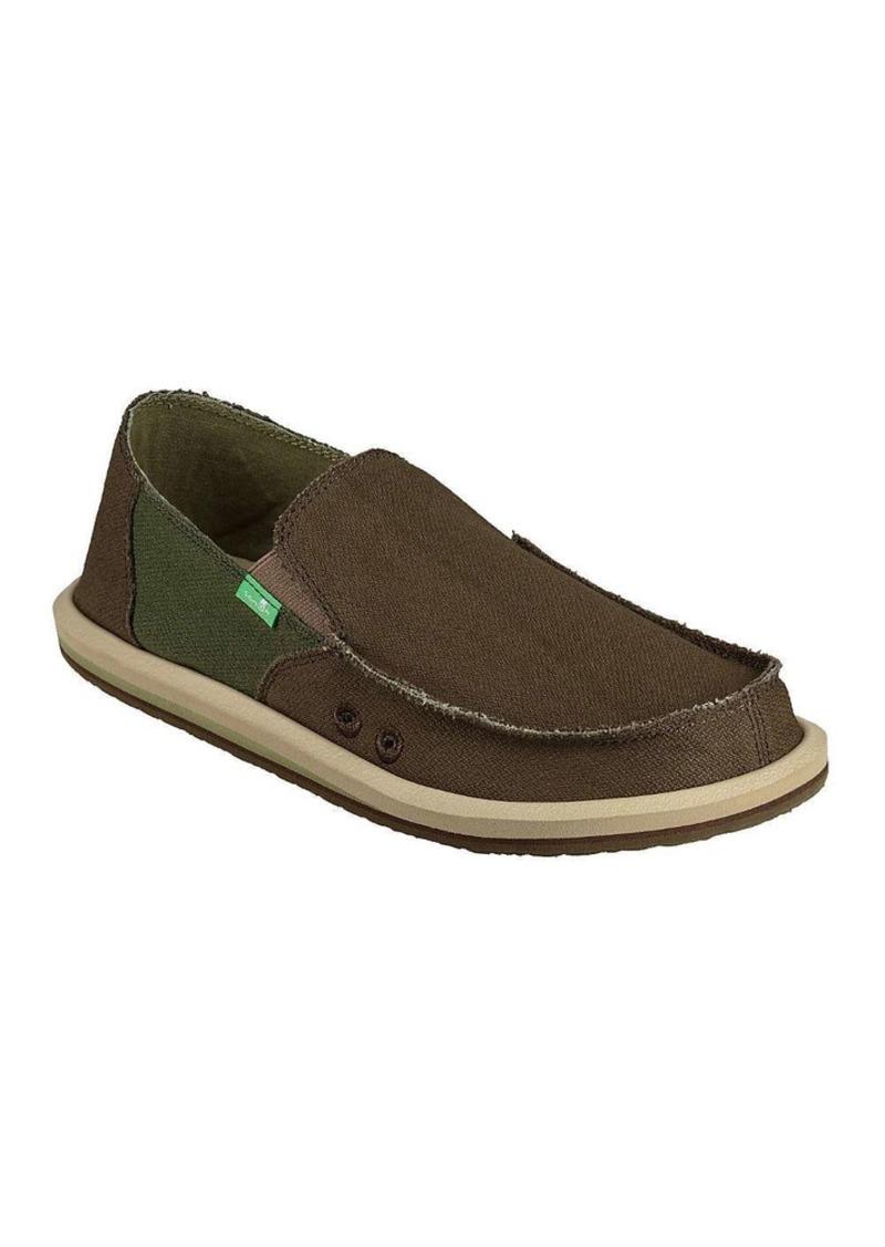 Sanuk Men's Vagabond Hemp Shoe