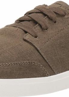 Sanuk Men's Vagabond Lace Linen Sneaker   M US