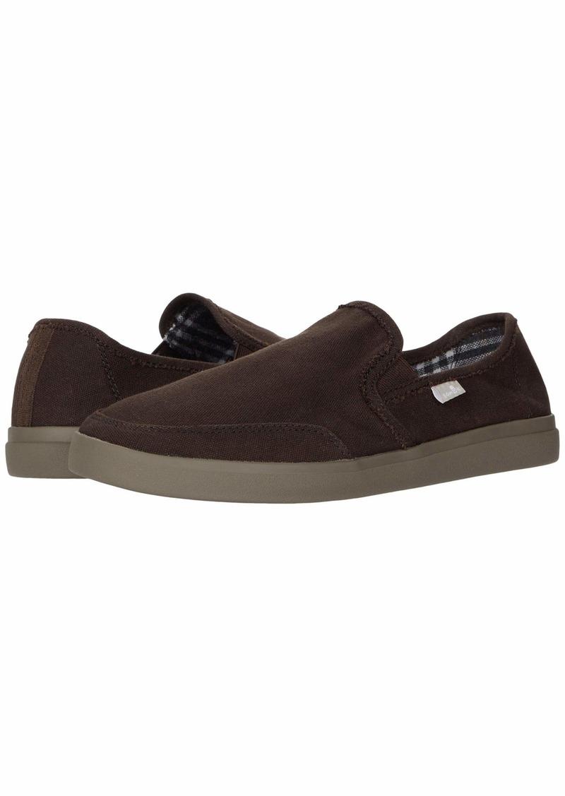 Sanuk Vagabond Slip-On Sneaker LX   D (M)