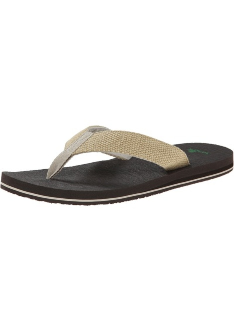 Sanuk Men's Yogi 4 Flip Flop   M US