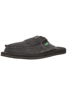 Sanuk Men's You Got My Back II Slip On CHARCOAL