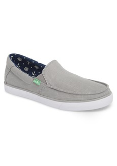 Sanuk Sideline Linen Slip-On (Men) (Nordstrom Exclusive)