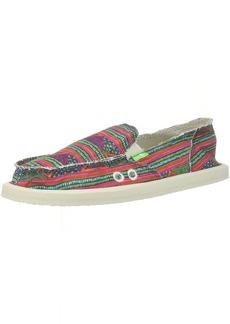 Sanuk Women's Donna Geo Stripes Loafer Flat