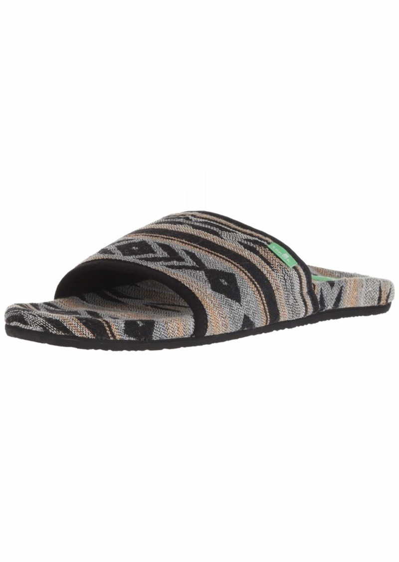 Sanuk Women's Furreal Slide Sandal  0 M US