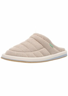 Sanuk Women's Puff N Chill Low Hemp Shoe   M US
